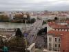 04 Lyon. Rhône y Pont de Lattre Tasigny desde Croix Rousse.