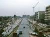 5-Shangai 1984_apertura gran vía Shanghai quizá Beiijing con templo Jang\'hai