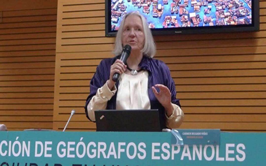 Saskia Sassen en Madrid: Digitalización y poder