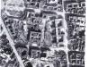 Vista aérea de la zona de la Topografía del Terror tras los bombardeos de abril 1944