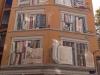 26 Lyon. Muro pintado La biblioteca de la ciudad.