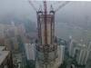 59-bis Shanghai 2012_Rascacielos en construcción Pudong desde Hyatt.